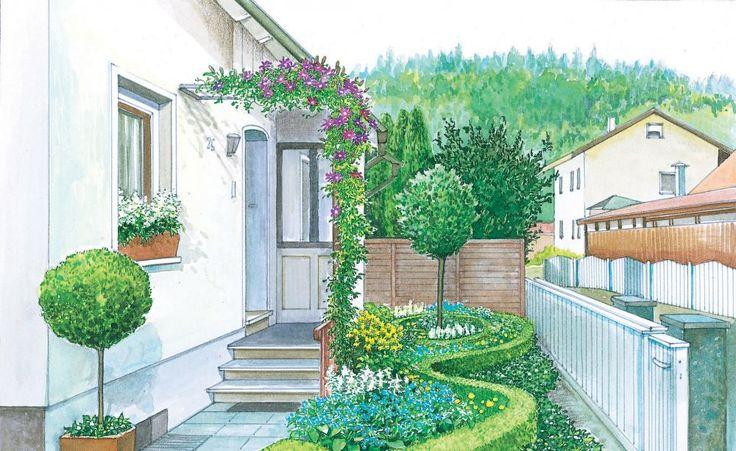 1000 ideas about vorgarten gestalten on pinterest vorgarten ideen vorgartengestaltung and. Black Bedroom Furniture Sets. Home Design Ideas