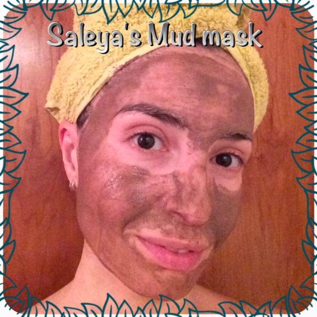 Salèya's Rhassoul mud mask #organic #MudMask #spa #natural #treatment