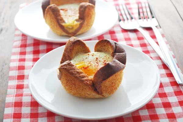 Eggs in a Basket by healthyrecipesblogs #Eggs