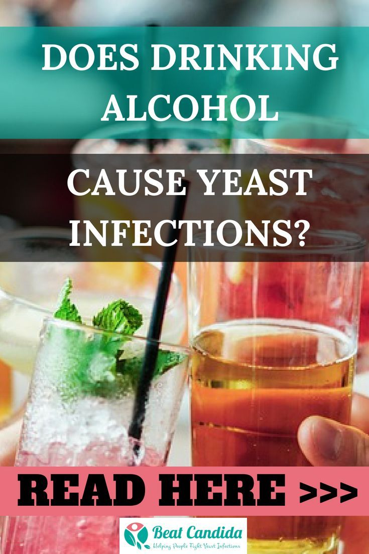 Can beer cause vaginal yeast infection