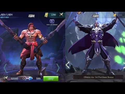 Arena of Valor (Strike of Kings) All Characters, 53 heroes 09 2017 HD - YouTube