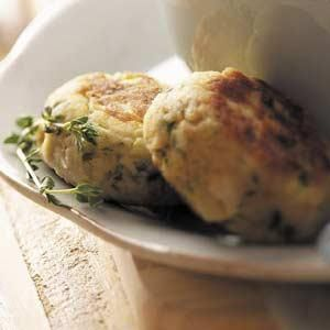 Zucchini Crab Cakes Recipe from Taste of Home