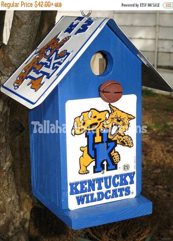 30% OFF Today Kentucky birdhouse,Wildcat birdhouse,Kentucky Wildcat,Kentucky Football,Wildcat Football,Kentucky fan,Kentucky basketball,Wild