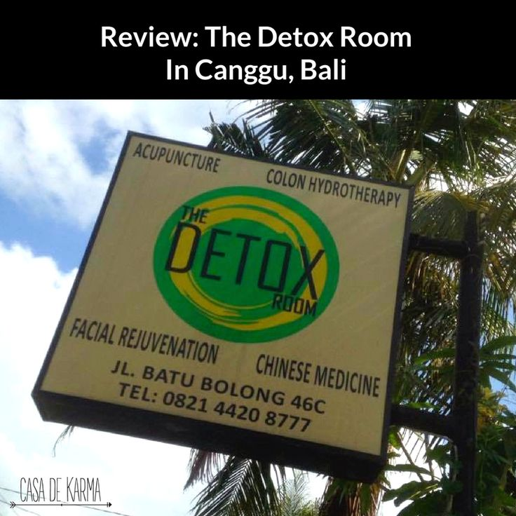 Wondering where to detox in Canggu? Get the lowdown on my colonic experience at The Detox Room including the service, location and who I'd recommend it to.