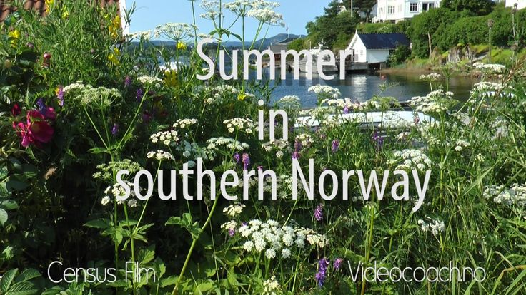 Travelling Oslo Fjord - Southern Norway. Sandvika, Oslo, Kristiansand an...