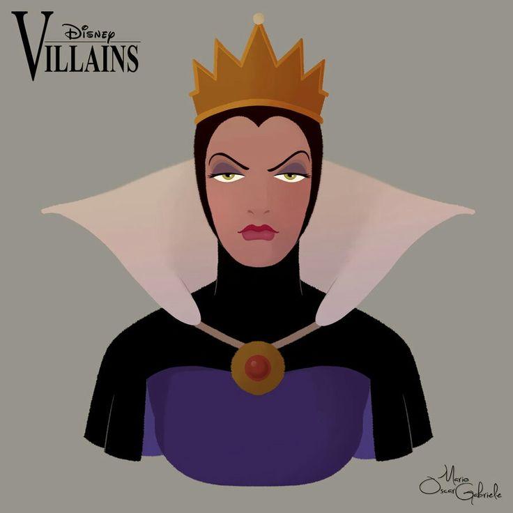 Disney Villains:Evil Queen by Mario Oscar Gabriele on Devinart