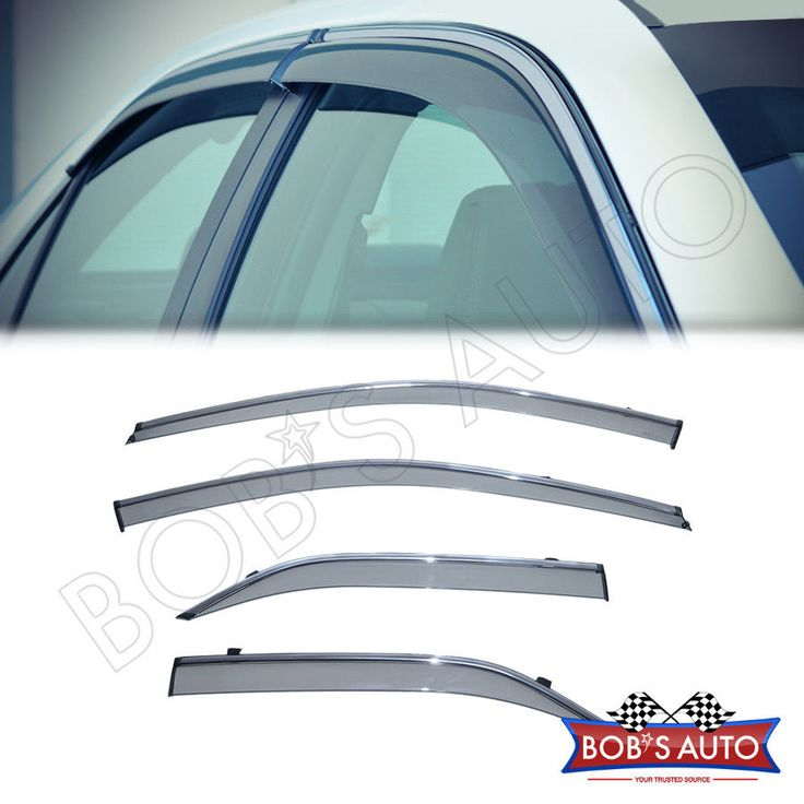 Awesome Great Toyota Camry 2012-2014 SE Chrome TrimSide Window Vent Visor Rain Guard 2017 2018