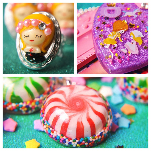 Handmade resin jewelry by...