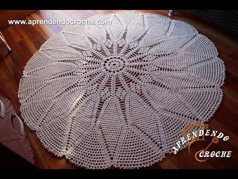 Max Tapete Crochê Sala - Aprendendo Crochê - YouTube