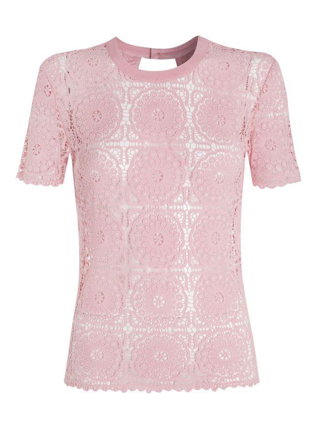 Red Herring lace top, £28, at Debenhams