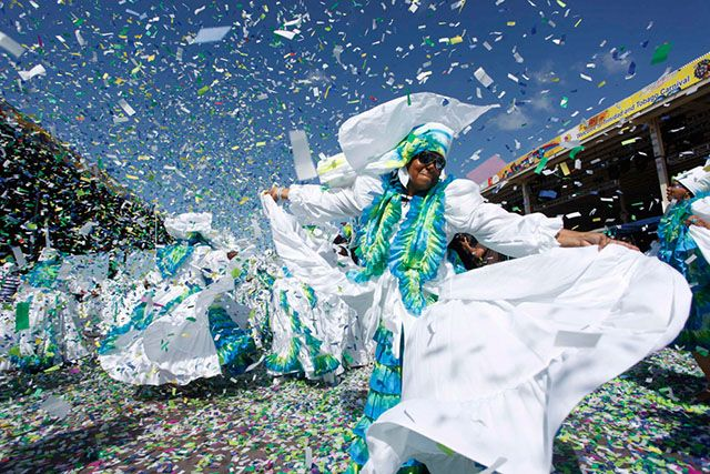 El Carnaval en Port of Spain, Trinidad y Tobago.