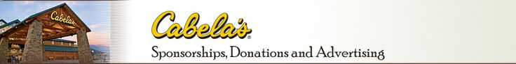 Cabela's Sponsorships, Donations and Advertising