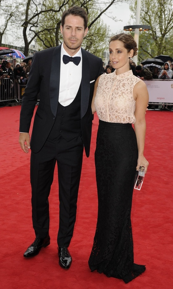 Jamie And Louise Redknapp At The Baftas 2013