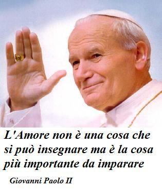 Giovanni Paolo II dixit