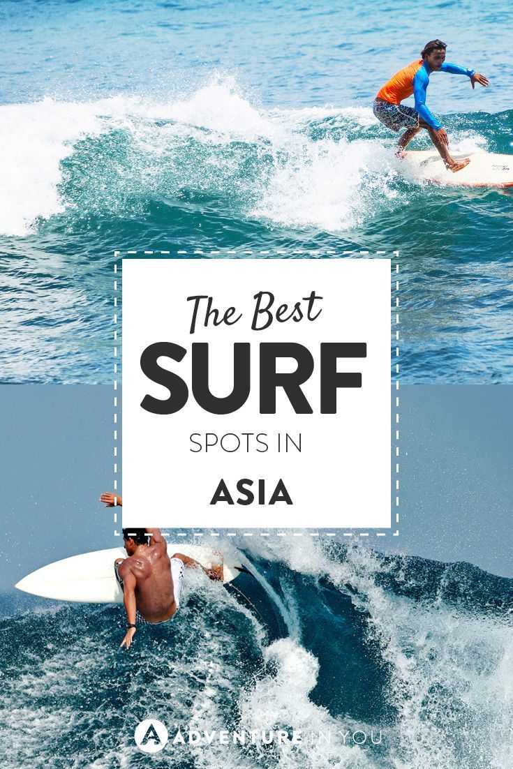 Do you live to surf? Here are the best surf spots in Asia