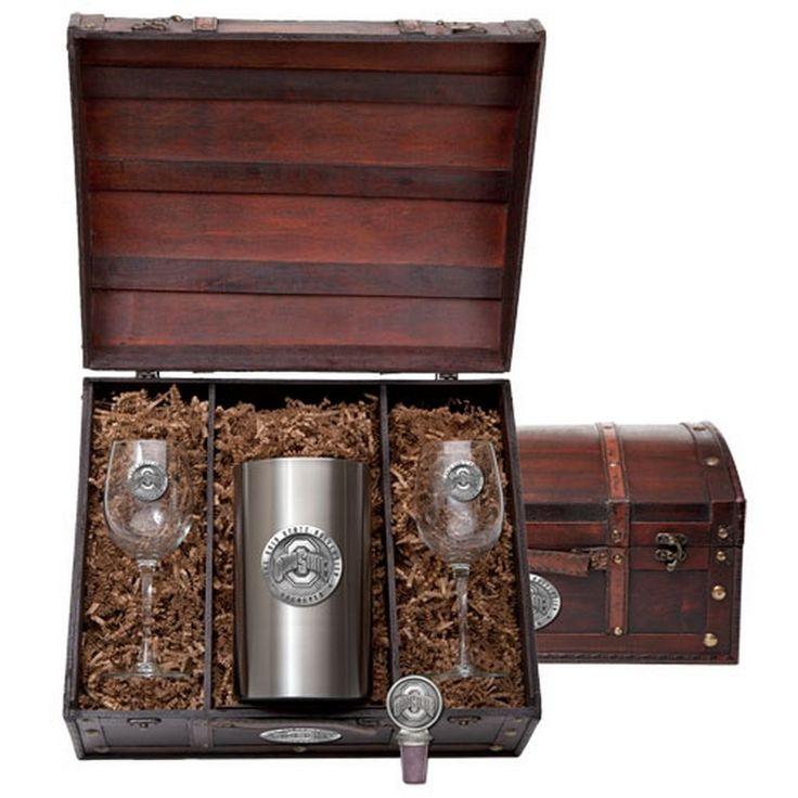 Ohio State University Buckeyes Wine Gift Set