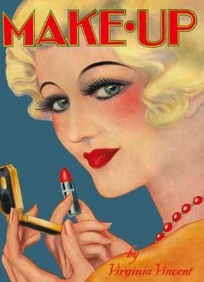 Makeup 1930s Beauty Instruction and Technique by Virginia Vincent — Frankel's Costume