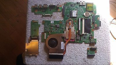 Genuine Dell Inspiron 1750 motherboard CPU fan daughter boards and wifi card