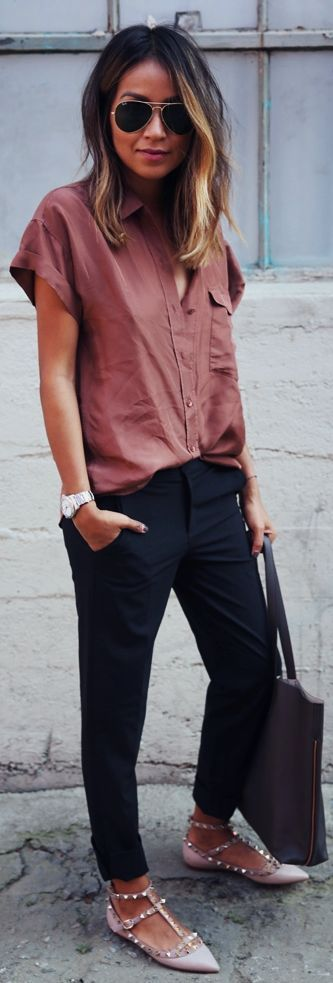 Everlane Clothing Outfit Idea by Sincerely Jules
