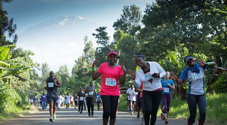 2017 Kilimanjaro Marathon Packages Released. Photo from the 2016 race, Moshi, Tanzania.