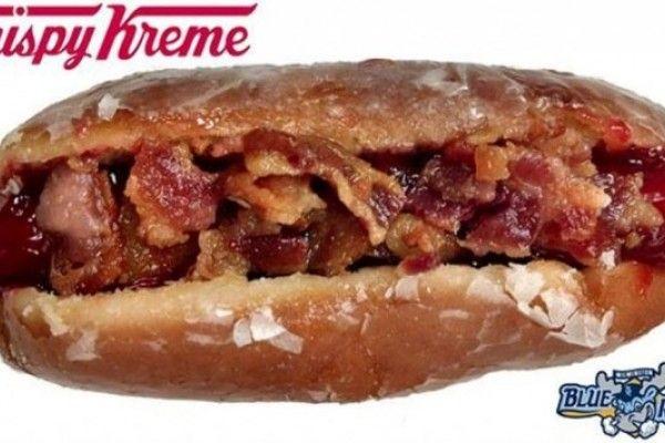 Krispy Kreme Donut Dog, el antojo que podría matarte (Fotos)