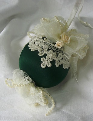 Handmade ornament (sold)