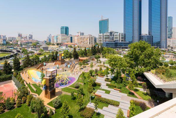 landarchs.com - Zorlu Center, The Playground Where Imagination Comes to Play