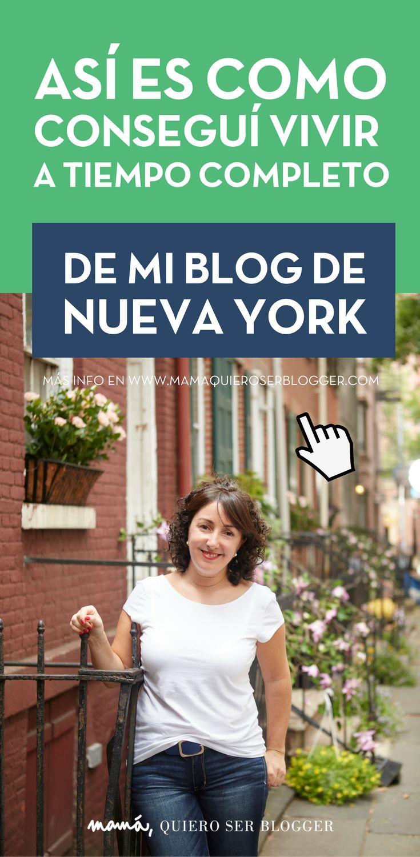 Sí, gano dinero con mi blog de Nueva York y es mi trabajo a tiempo completo. Y tú también puedes lograrlo.