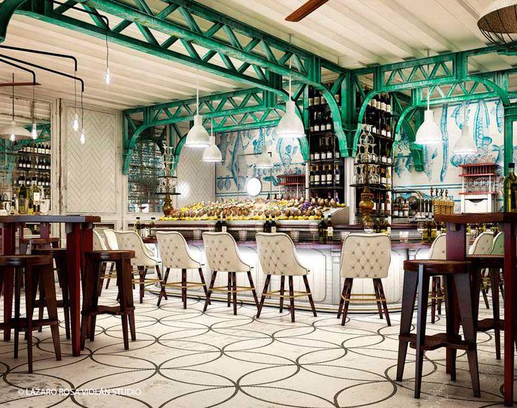 Gastroteque monaco interiors interiors interiors the for Food bar cannington