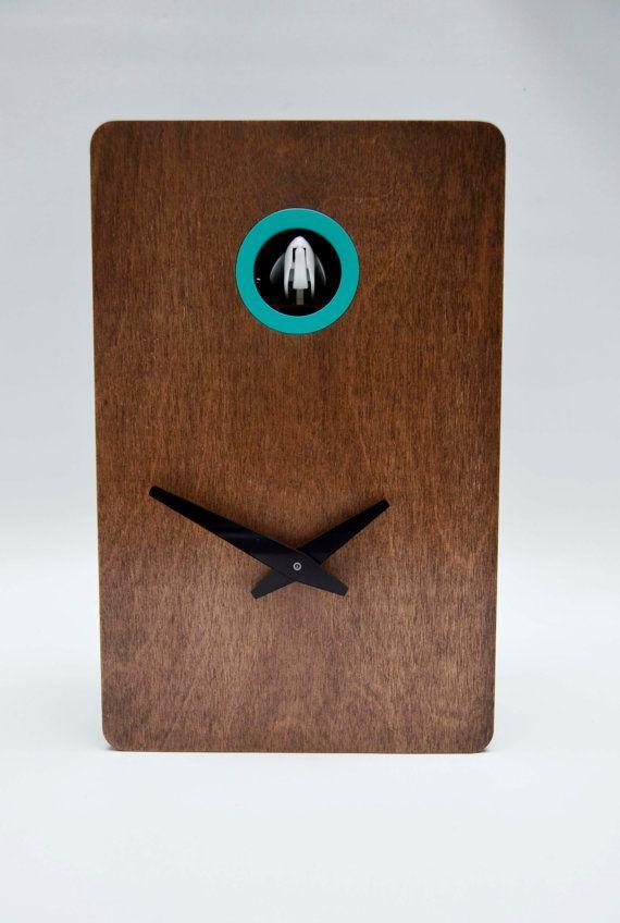 Quercus Nº2 Modern Cuckoo clock por pedromealha en Etsy