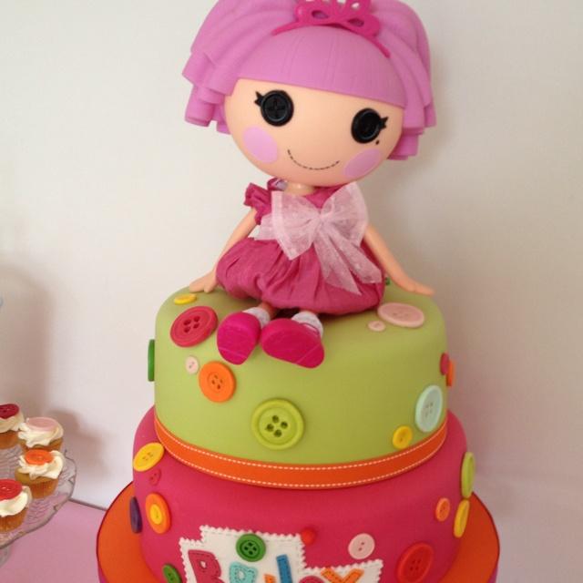 La La Loopsy cake.  Adorable!