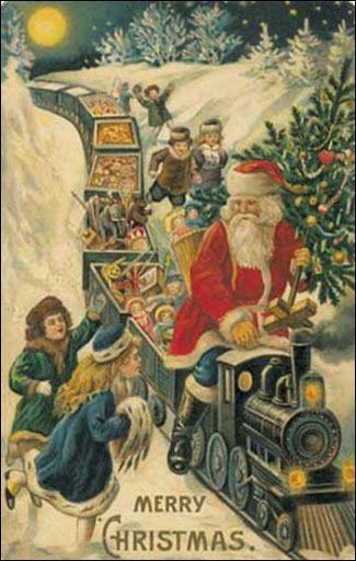 vintage_kerstkaarten - Google zoeken