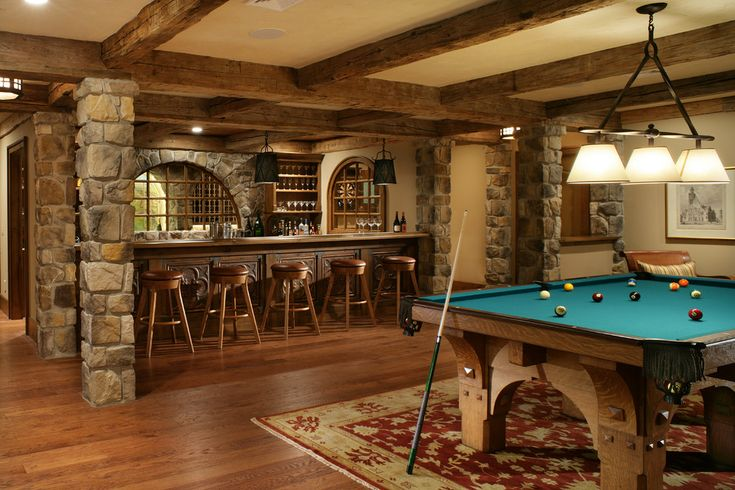 Best 25 rustic basement ideas on pinterest - Rustic bar ideas for basement ...