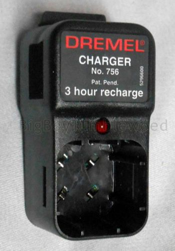 Vtg Dremel Battery Charger 756 3hr 6v Charge Rotary Router