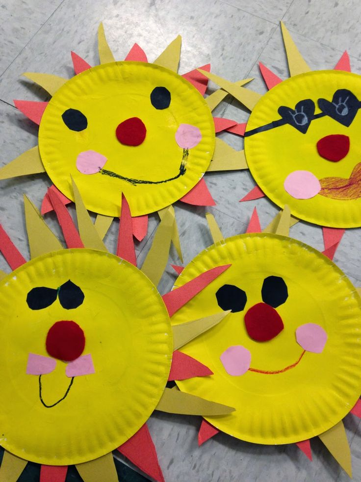 Easy sun craft!  Great for End of Year!