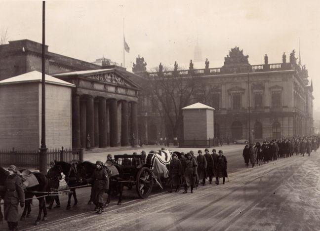 Walter von Reichenau Begräbnis(Funeral)