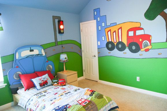 Are You Wondering How To Paint A Mural On Your Son 39 S Or Daughter 39 S Walls I 39 Ve Walked In Your