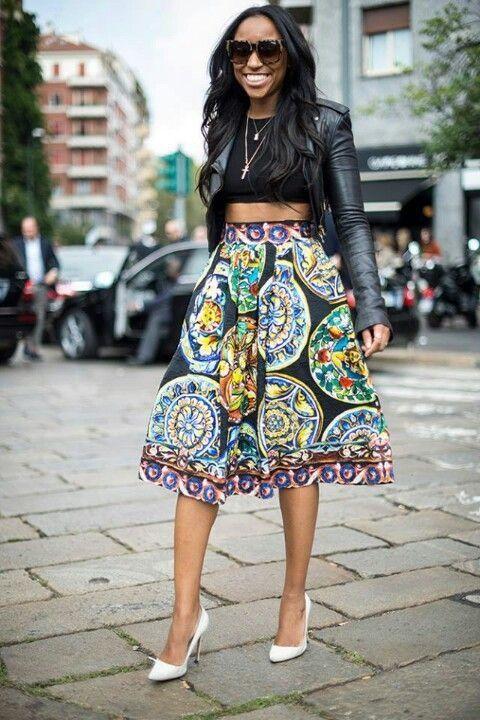 Milan street look