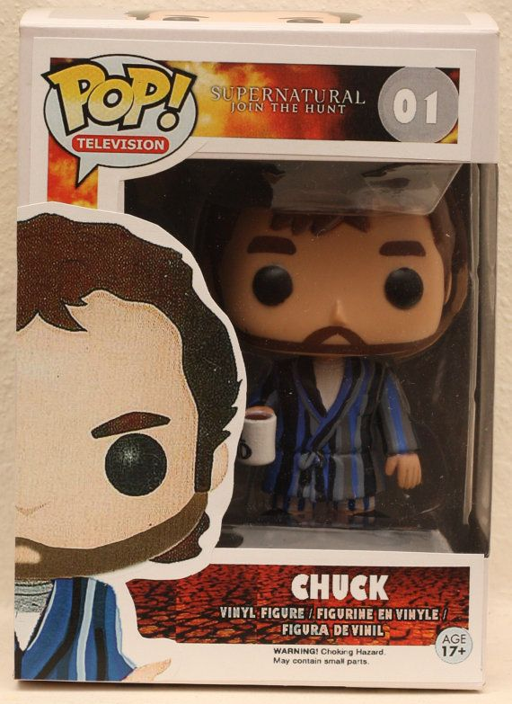 Supernatural The Prophet Chuck (God) - Custom Funko pop toy
