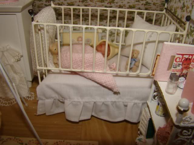 miniature victorian nursery