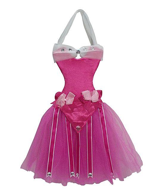 Pink Princess Tutu Bow Holder