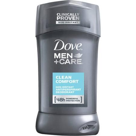 Dove Men+Care Clean Comfort Antiperspirant & Deodorant, 2.7 oz