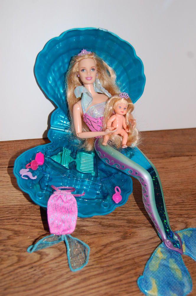 Barbie  et Krissy Sirène