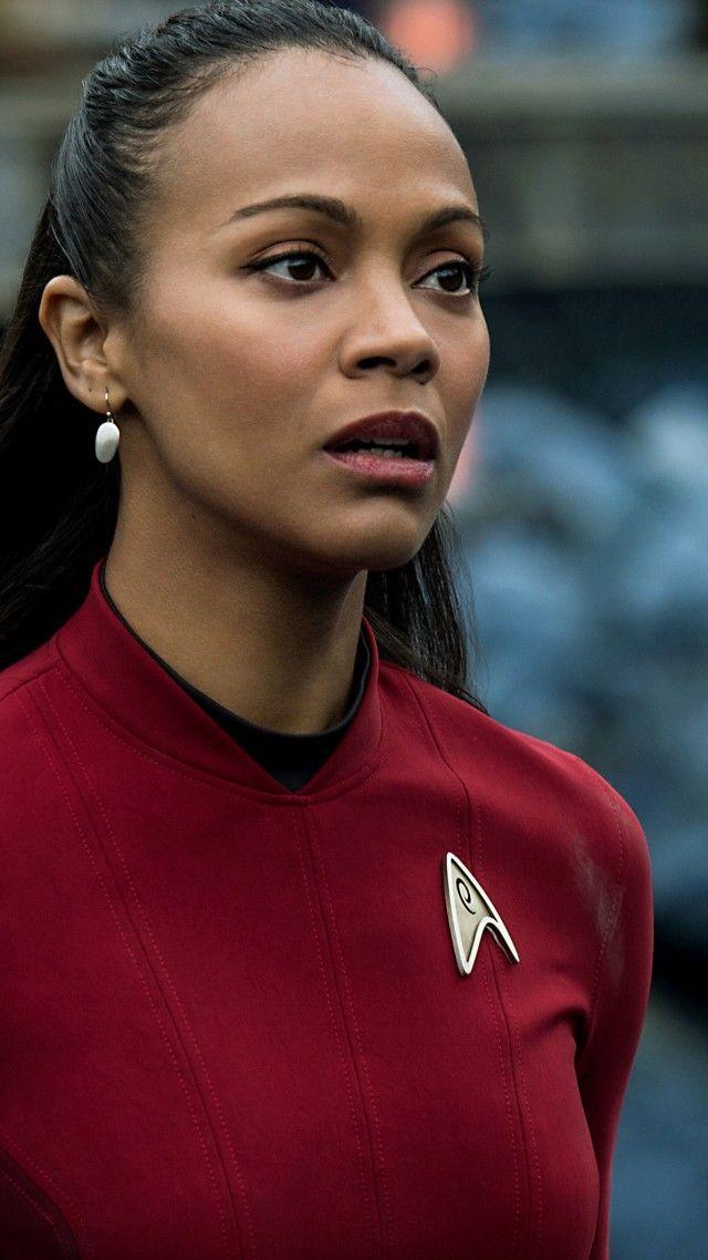 Zoe Saldana, Uhura, Star Trek Beyond                                                                                                                                                                                 More