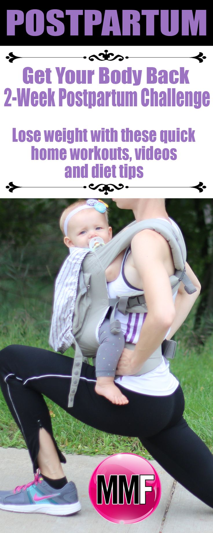How To Lose Your Baby Weight 2-Week Workout Plan  Get Fit,Healthy & Confident Again!  Quick Home Workouts & Diet Tips* {Even if nursing}