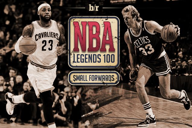 B/R NBA Legends 100: Ranking the Greatest Small Forwards of All Time