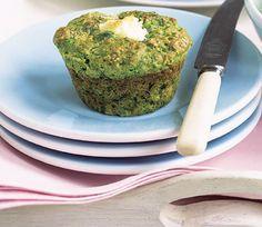 muffins de espinaca o acelga - Planeta Joy