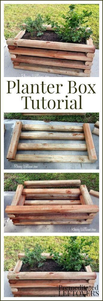 DIY Planter Box Tutorial