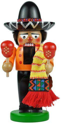 Steinbach Mexican Fiesta Chubby Nutcracker $99.06 (save $199.94)