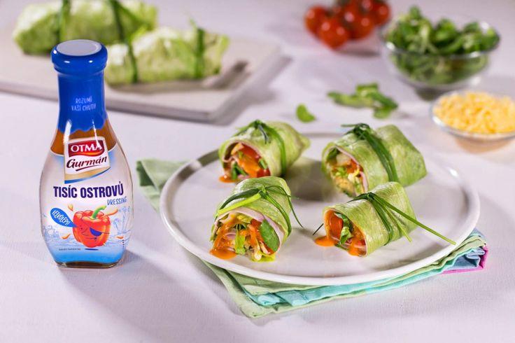 Salátové závitky